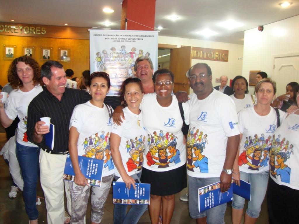 O Núcleo de Justiça Comunitária da Lomba do Pinheiro